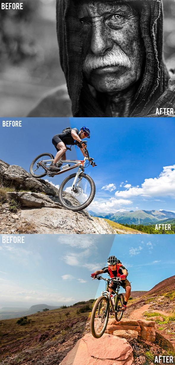 HDR Preset - HDR Lightroom Presets