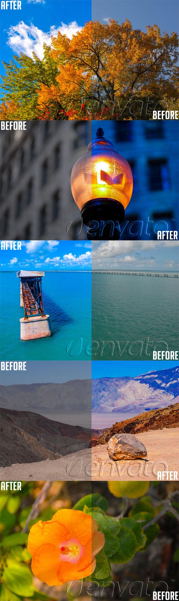Lightroom Color Enhance Preset - Landscape Lightroom Presets