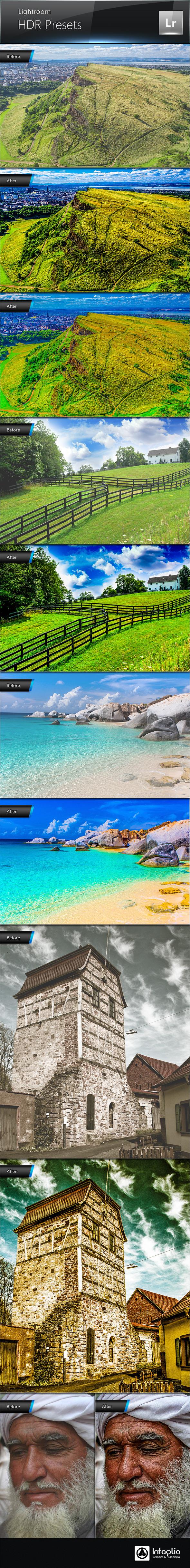 HDR Presets for Lightroom - HDR Lightroom Presets