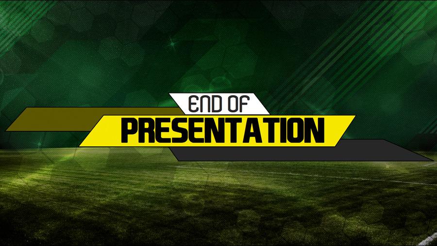 Soccer Presentation Template