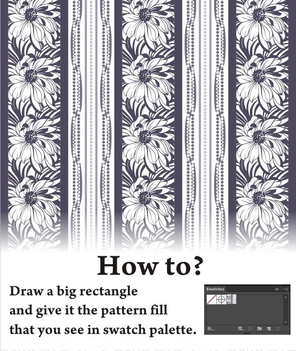 Floral Pillar - Nature Textures / Fills / Patterns