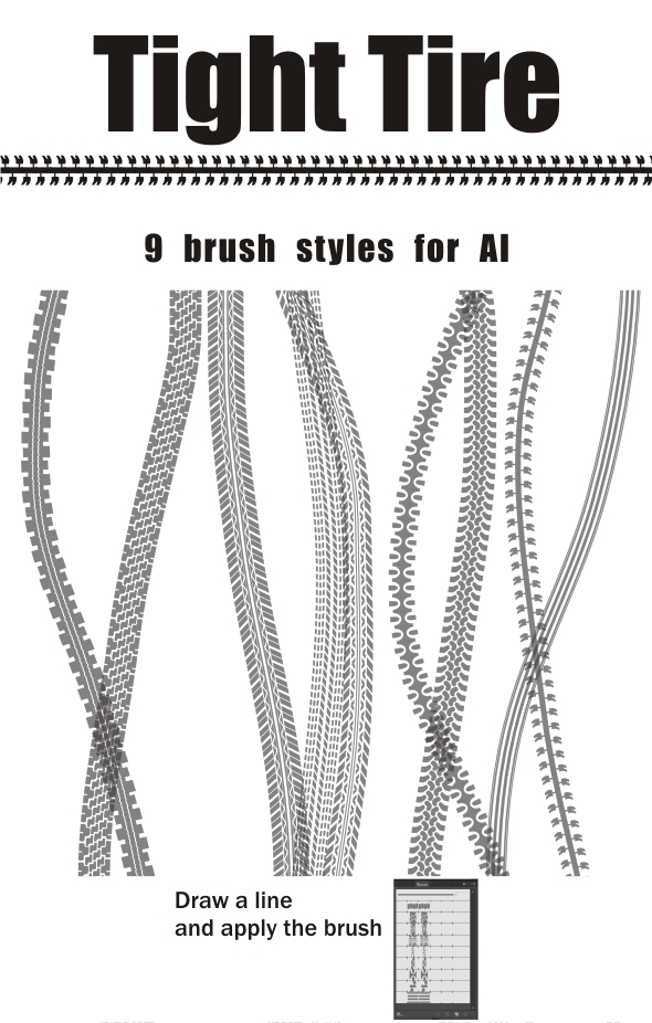 Tight Tire - Texture Brushes