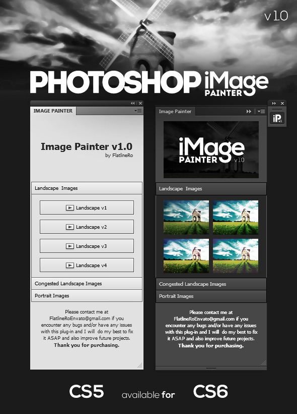 Image Painter - Photo Effects Actions
