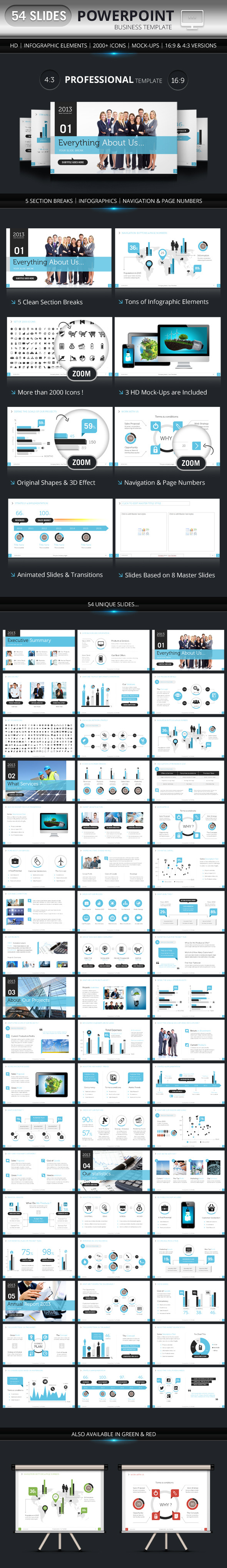 PowerPoint Business Presentation Template - Presentation Templates