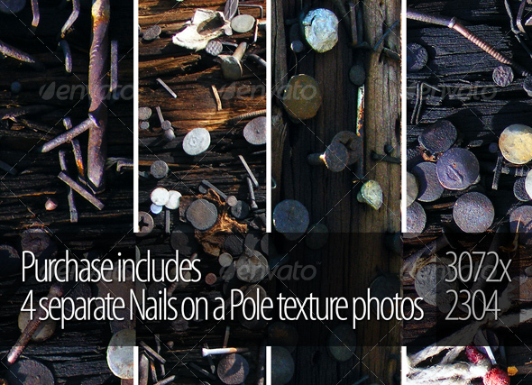 Nails on a Pole - Industrial / Grunge Textures