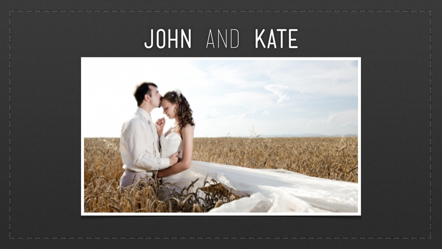 Wedding Album Slideshow Keynote Template by SlideMaster | GraphicRiver