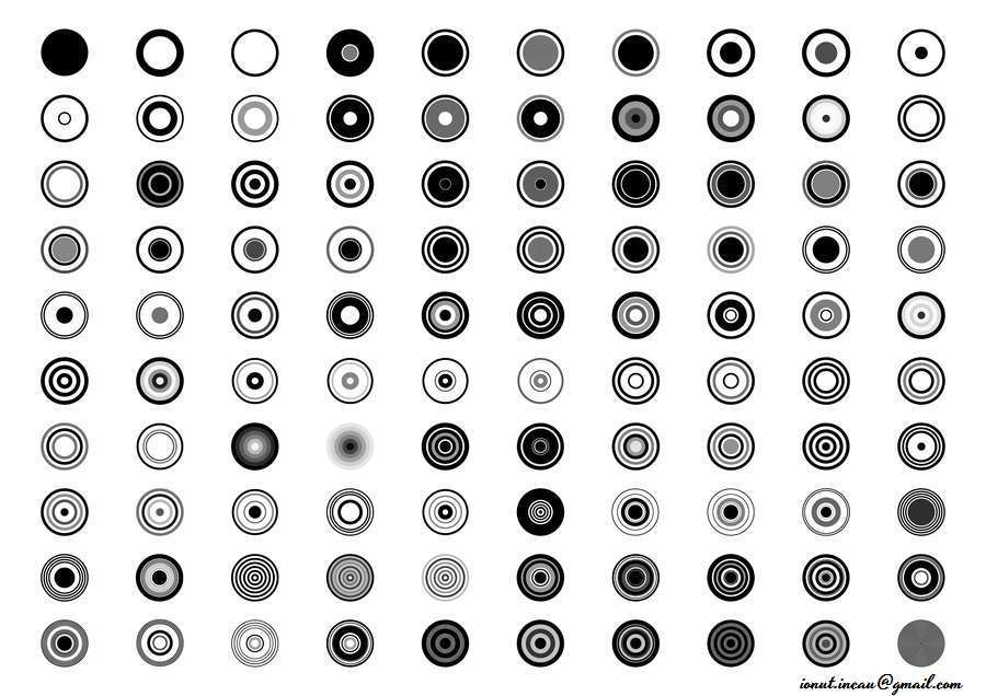 100 Circle Brushes Photoshop Brushes By Whiteshadow13 Graphicriver