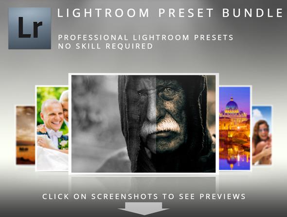 Lightroom Preset Bundle - Portrait Lightroom Presets