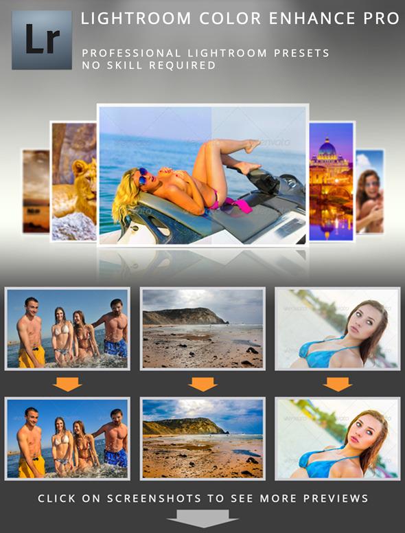 Lightroom Color Enhance Pro - Portrait Lightroom Presets