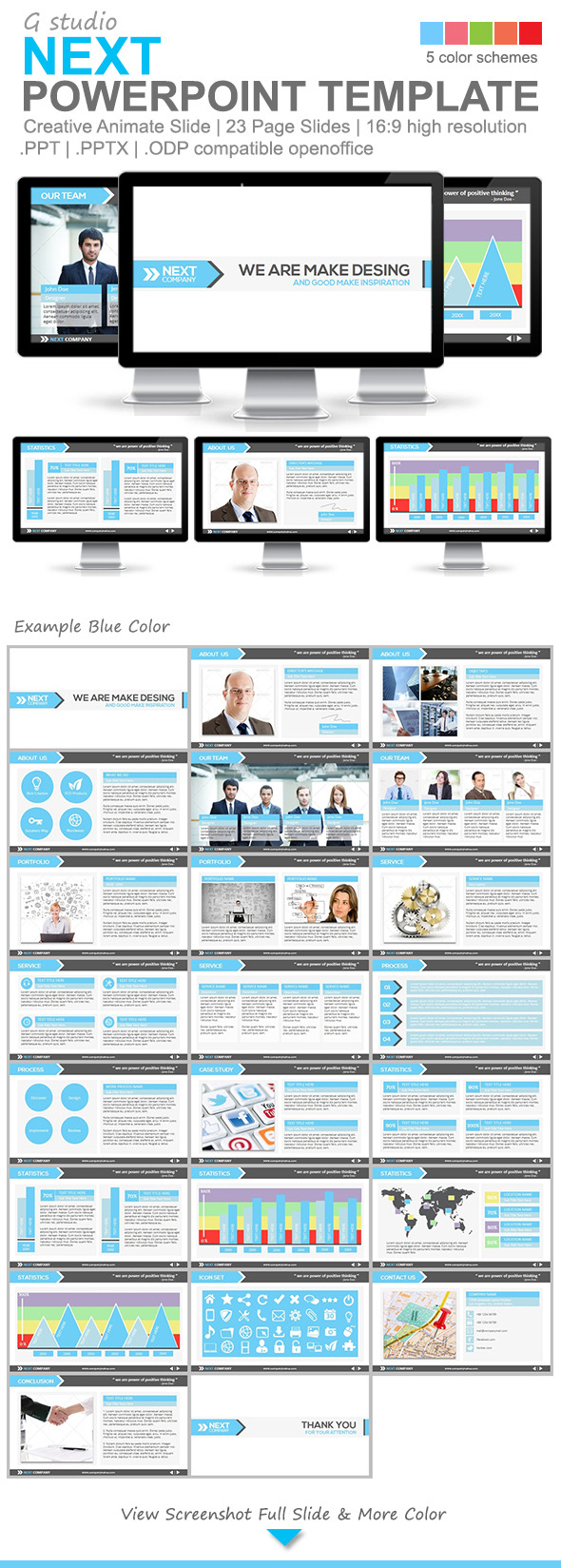 Gstudio Next Powerpoint Template - Business PowerPoint Templates