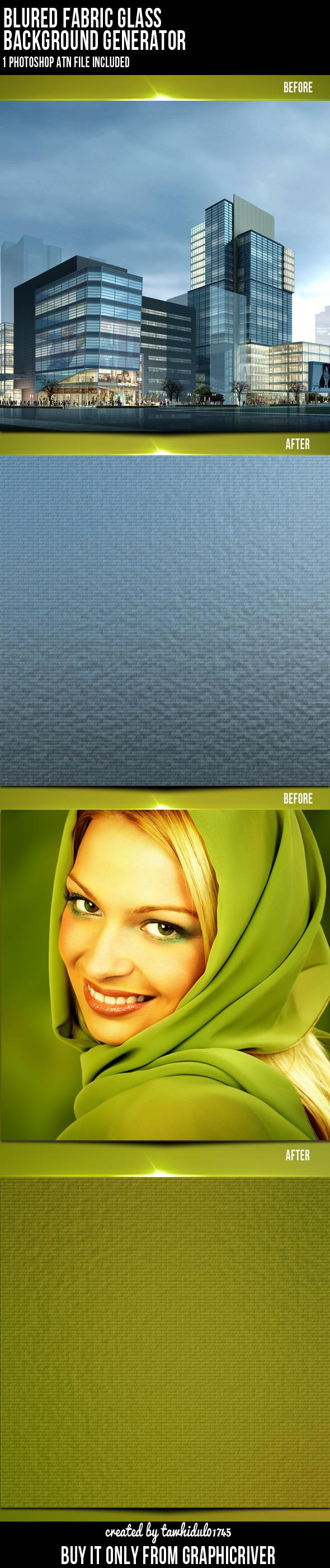Background Generator Photoshop Action