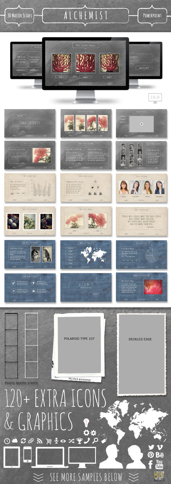 Alchemist Powerpoint Template by 83MUNKIS | GraphicRiver