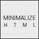 Minimalize | Multipurpose One Page Template - ThemeForest Item for Sale