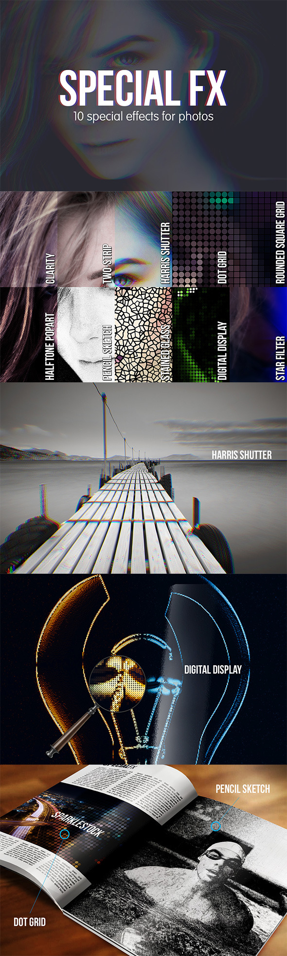 10 Special FX for Photos - Photo Effects Actions