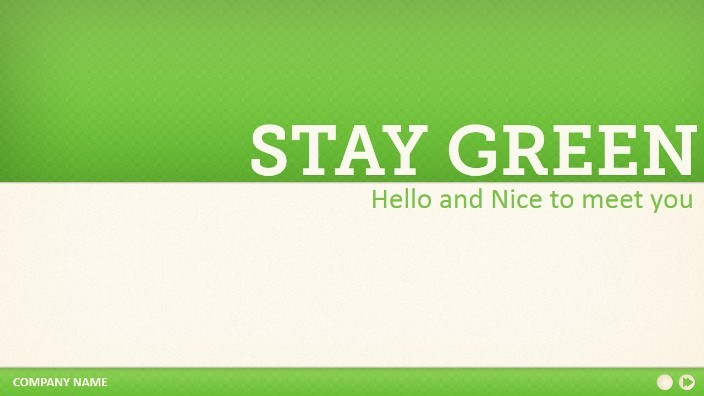 stay green powerpoint templateslidefactory | graphicriver, Modern powerpoint