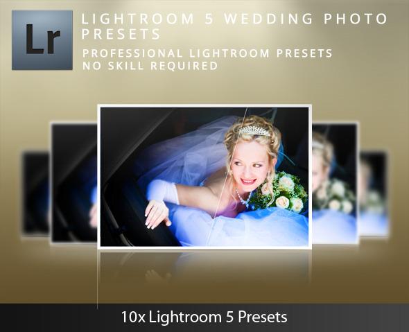 Lightroom 5 Wedding Presets - Wedding Lightroom Presets
