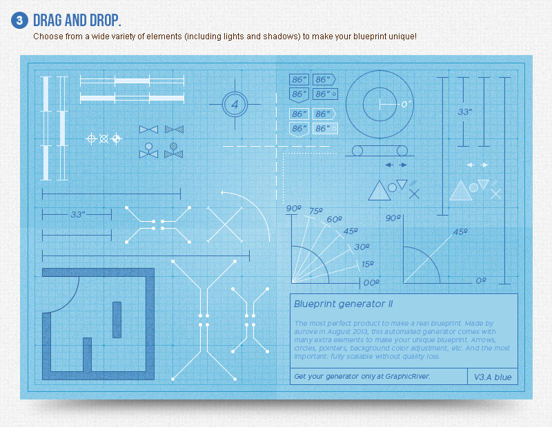 Blueprint generator ii action layer styles by aurove graphicriver blueprint generator ii action layer styles malvernweather Image collections