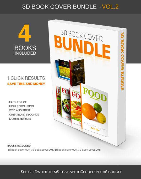 3D Book Cover vol.2 - Bundle - Utilities Actions