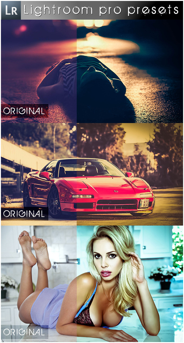 11 Mixed Pro Presets - Lightroom Presets Add-ons