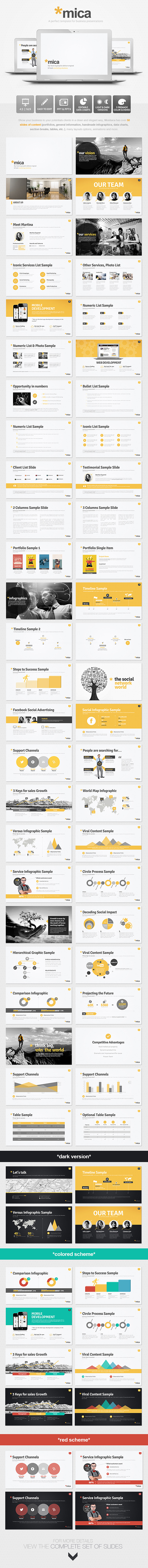 Mica powerpoint presentation template by eamejia graphicriver mica powerpoint presentation template toneelgroepblik Image collections