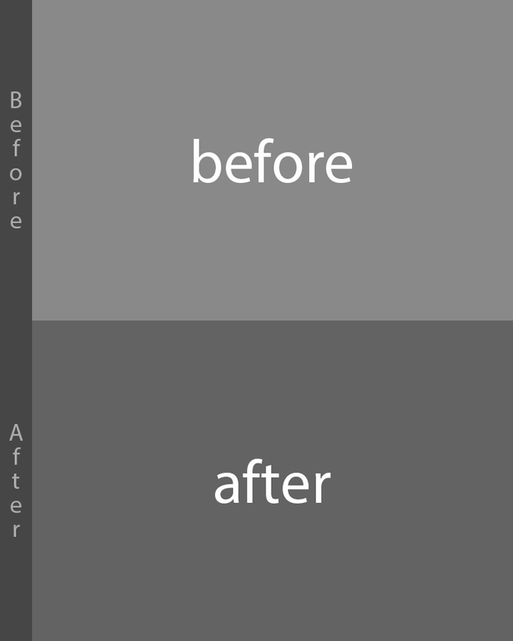 before after preview automated photoshop templates by bojansavke