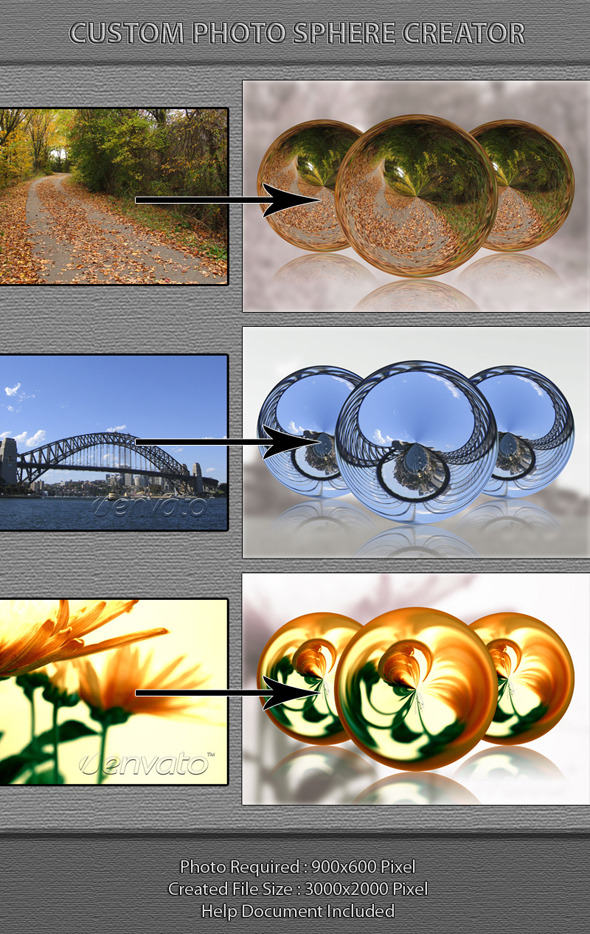 Custom Photo Sphere Creator