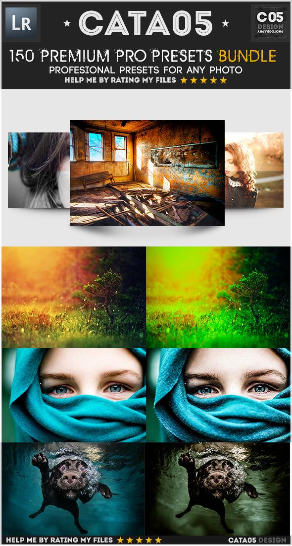 150 Premium Pro Presets Bundle - Portrait Lightroom Presets
