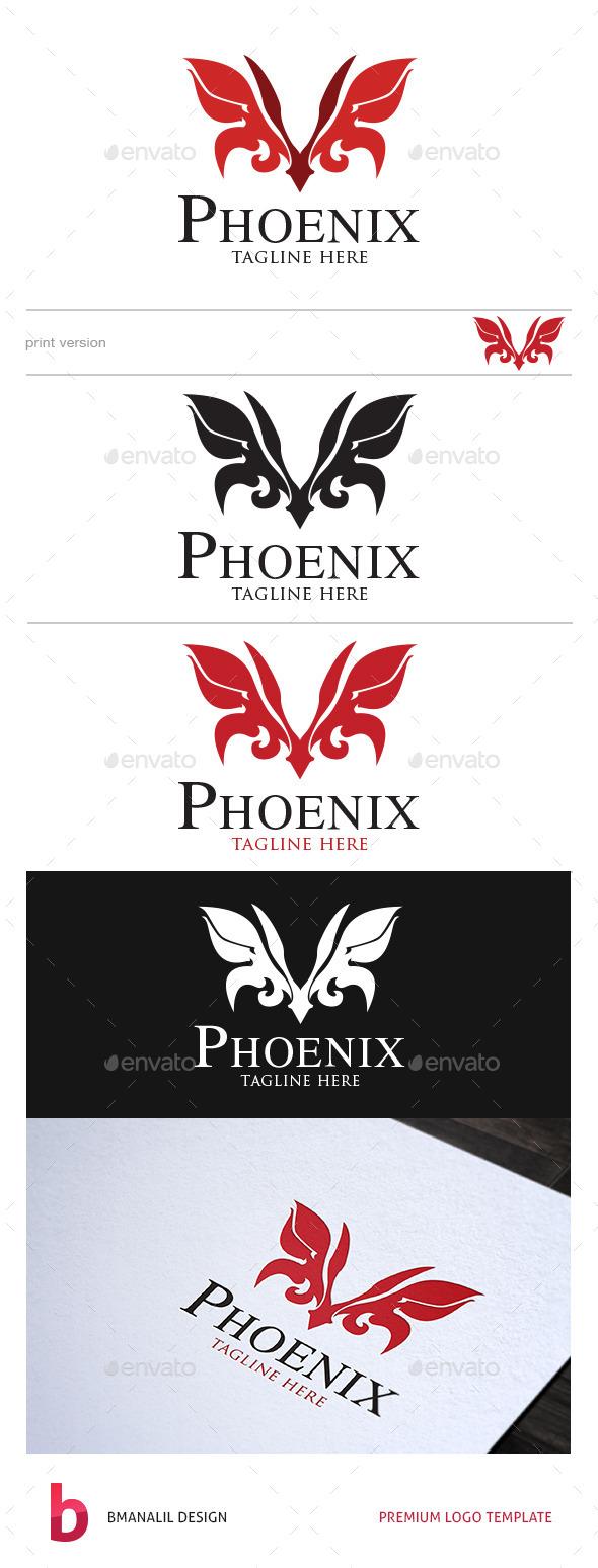 Phoenix Logo - Vector Abstract