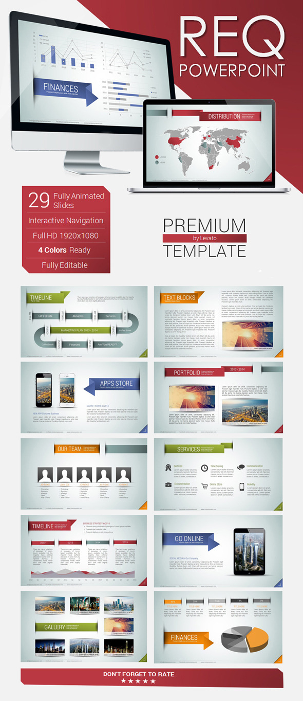 REQ Powerpoint Template - PowerPoint Templates Presentation Templates