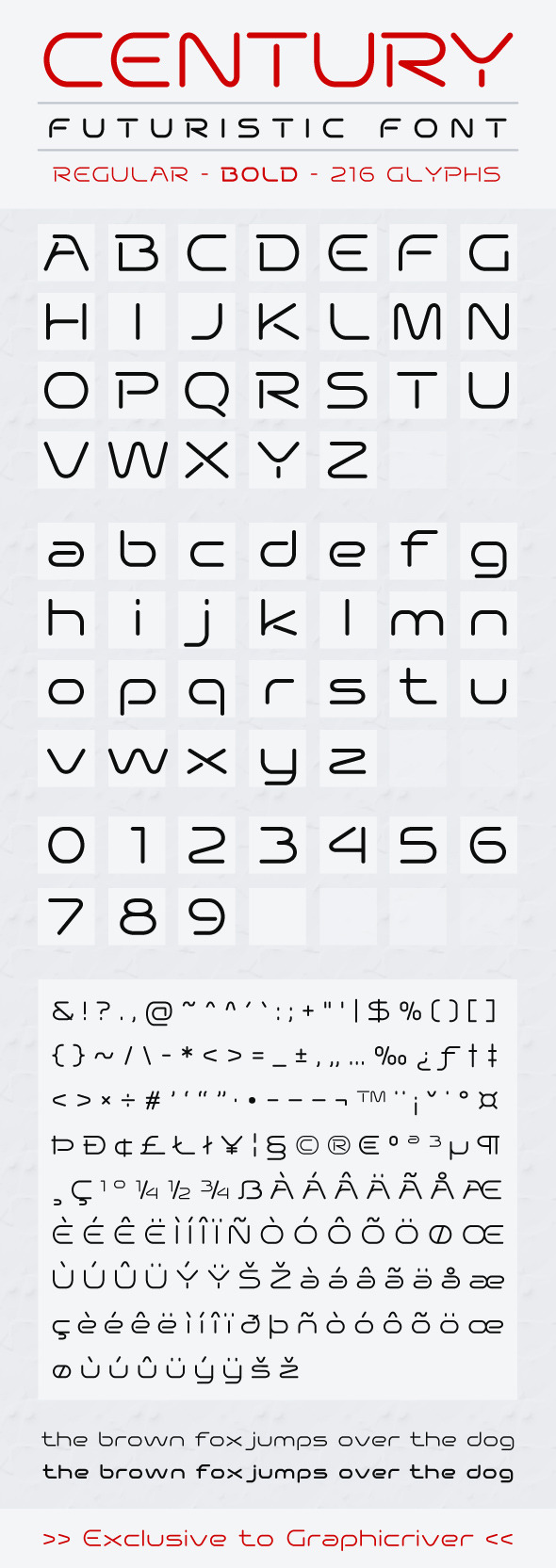 Century - Sans-Serif Fonts