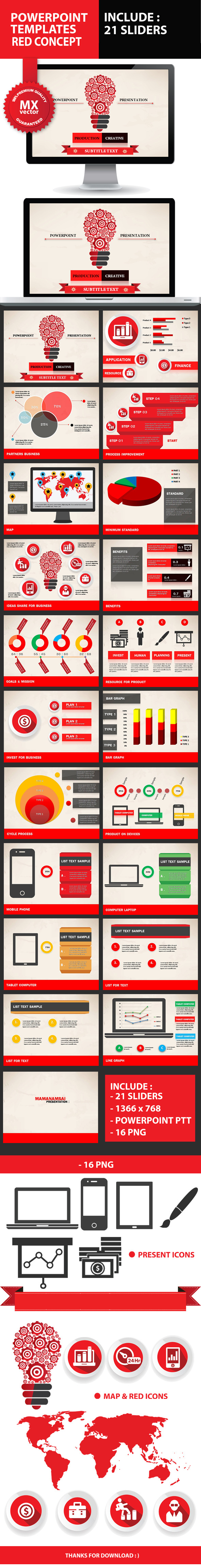 Product Creative Powerpoint Presentation - Creative PowerPoint Templates