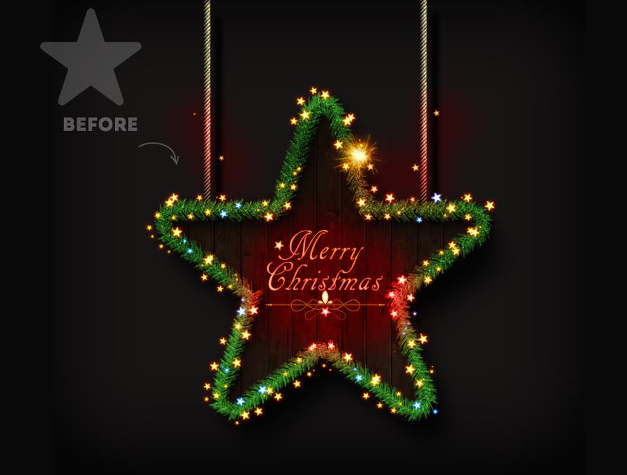 Christmas Tree Photoshop Creator by psddude | GraphicRiver