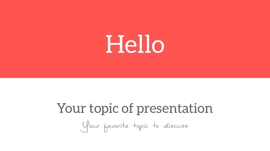 Hello PowerPoint - Multipurpose Presentation