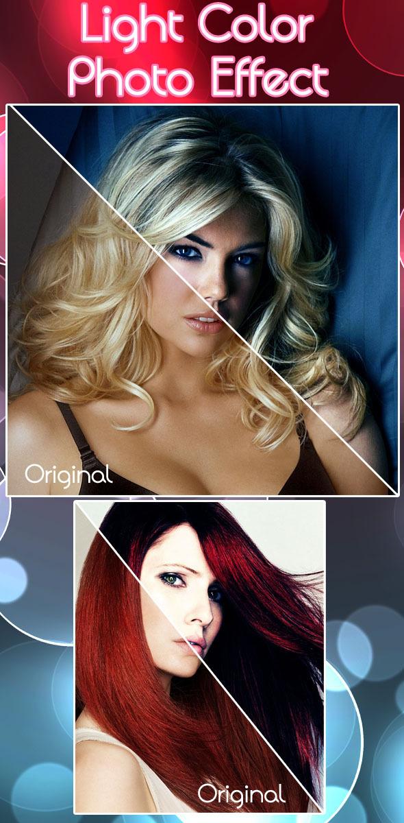 Light Color Photo Effect - Actions Photoshop