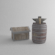 Blacksmith Tools - 3DOcean Item for Sale