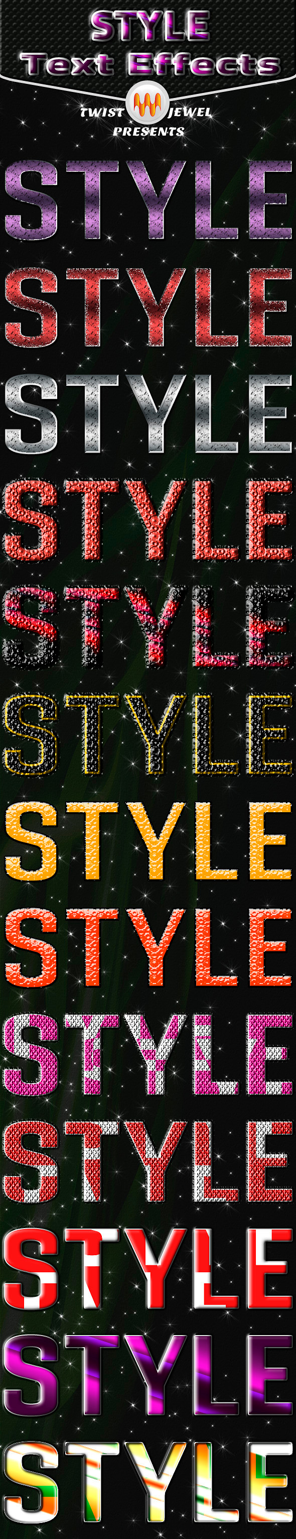 Style Text Effects - Text Effects Styles