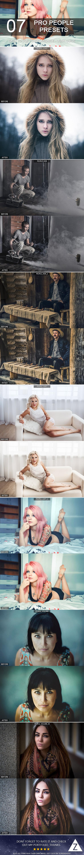 7 Pro People Presets - Portrait Lightroom Presets