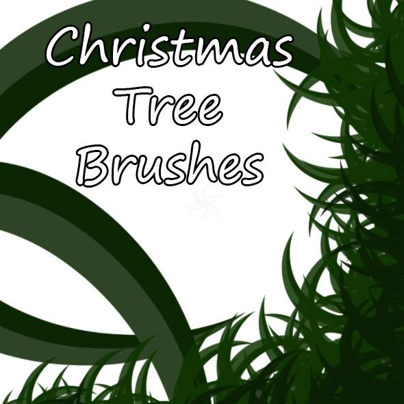Christmas Tree Brush - Brushes Photoshop
