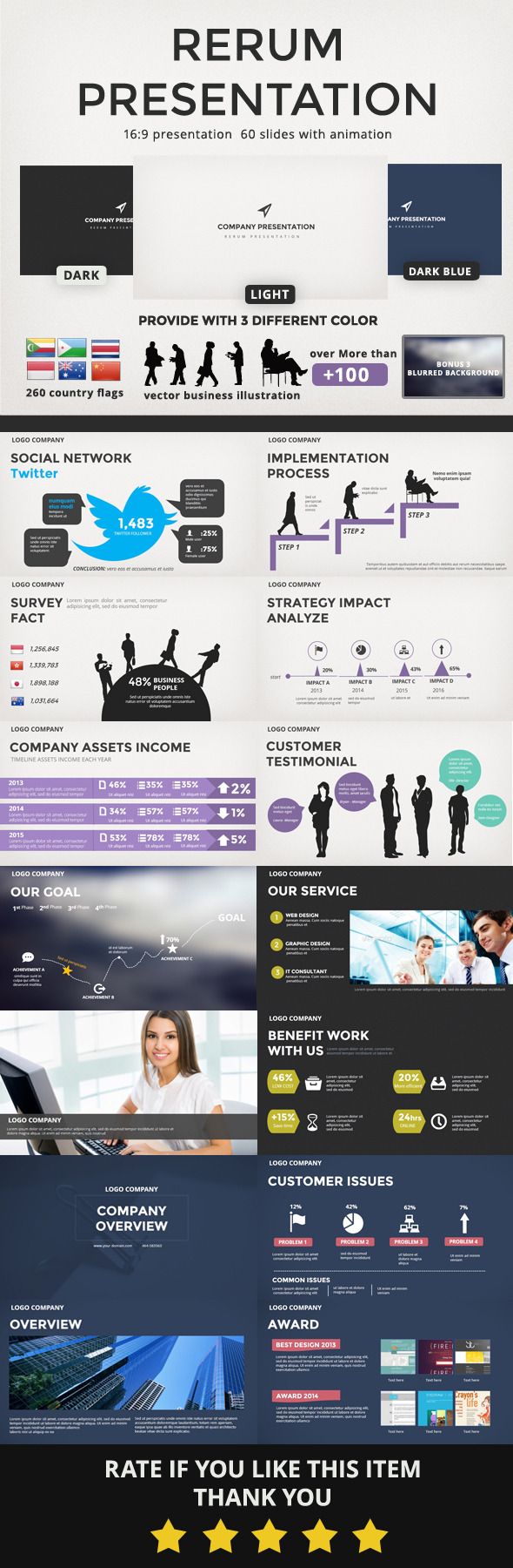 Rerum Presentation - Business PowerPoint Templates
