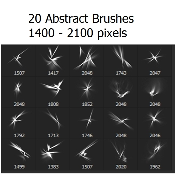 20 Abstract Brushes - Abstract Brushes