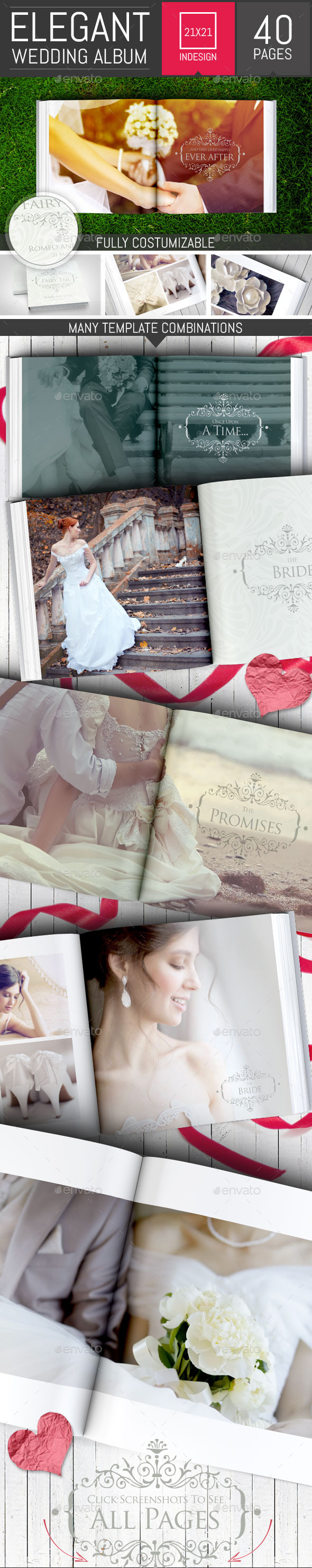 elegant wedding photo albums