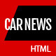 Car News - HTML for Car  Website Nulled
