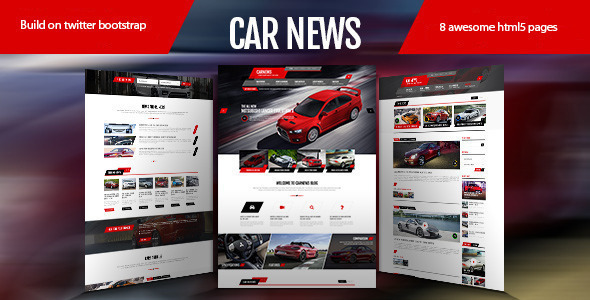 Car News – HTML for Car  Website