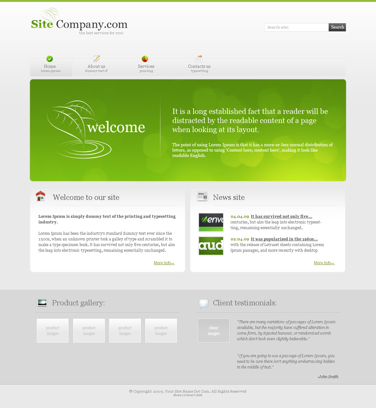 Free Download Green Color Company Nulled Latest Version