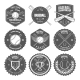 Set of Vintage Baseball Labels and Badges - GraphicRiver Item for Sale