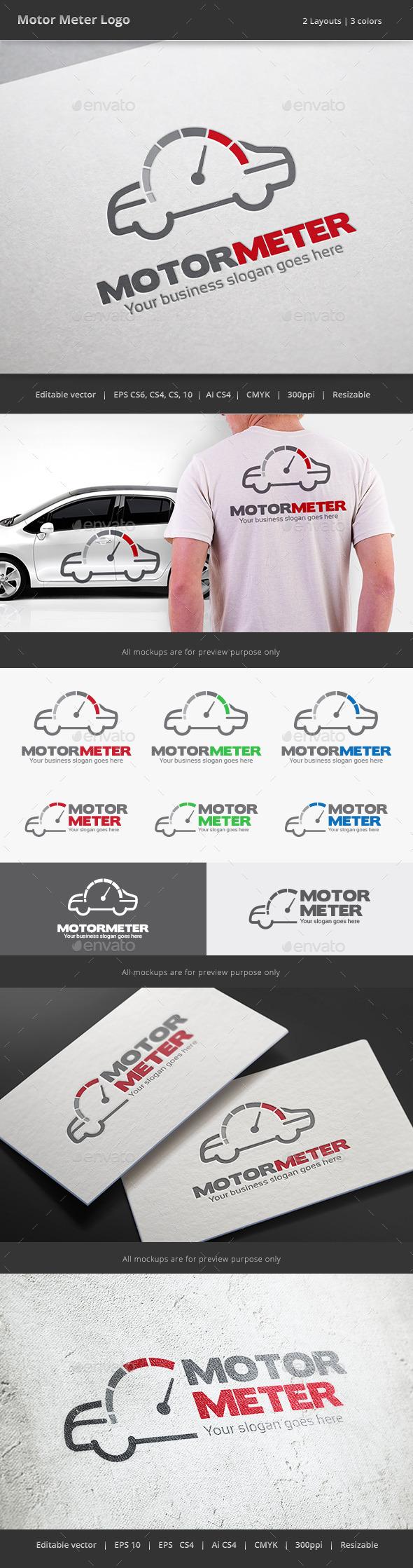 Motor Meter Car Logo