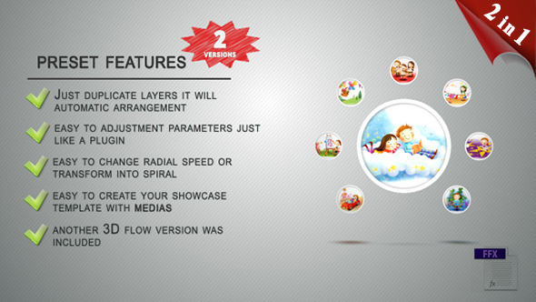 Flower Flow Preset (Showcase Tool)