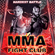 UFC MMA Fight Night Club Flyer Template - GraphicRiver Item for Sale