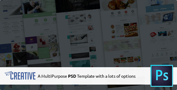Creative – Multipurpose PSD Template