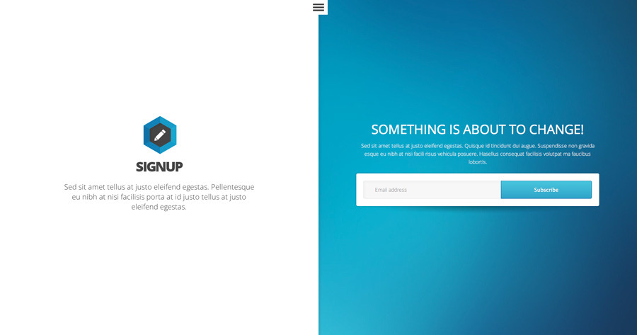 Signup Landing Page by BornThemes | ThemeForest